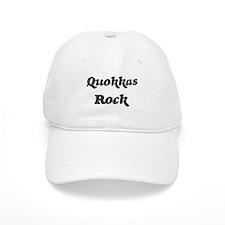 Quokkass rock Baseball Cap