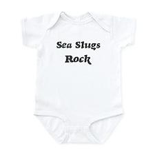 Sea Slugss rock] Infant Bodysuit