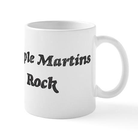 Purple Martinss rock Mug