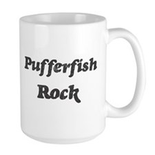 Pufferfishs rock Mug