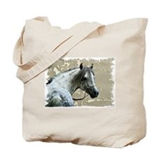 Caspain Horse Tote Bag
