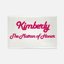 Kimberly - Matron of Honor Rectangle Magnet