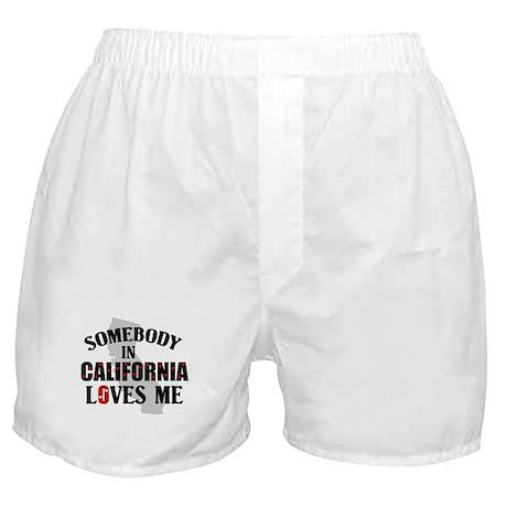Somebody In California Boxer Shorts
