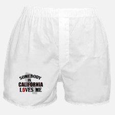 Somebody In California Boxer Shorts