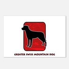 Greater Swiss Mountain Dog Postcards (Package of 8