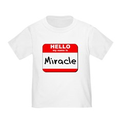 Hello my name is Miracle T