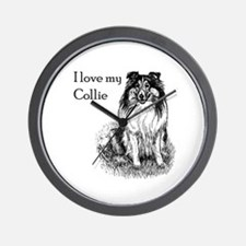 I love my Collie Wall Clock