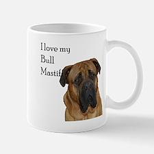 I love my Bull Mastiff Mug