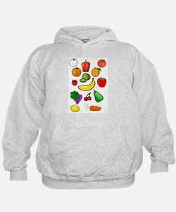 Unique Vegetables Hoodie