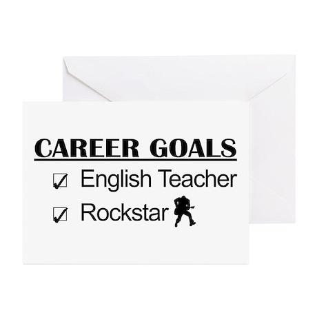 English Teacher Career Goals - Rockstar Greeting C