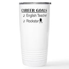 English Teacher Career Goals - Rockstar Travel Mug