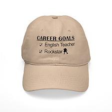English Teacher Career Goals - Rockstar Baseball Cap
