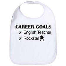 English Teacher Career Goals - Rockstar Bib
