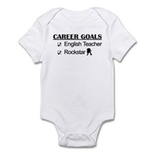 English Teacher Career Goals - Rockstar Infant Bod