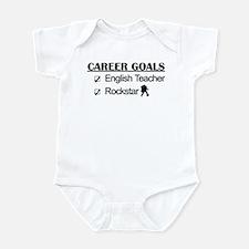 English Teacher Career Goals - Rockstar Infant Bod
