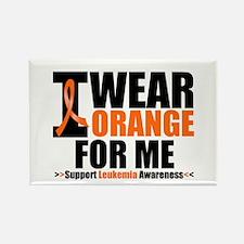 I Wear Orange For Me Rectangle Magnet