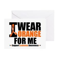 I Wear Orange For Me Greeting Cards (Pk of 10)