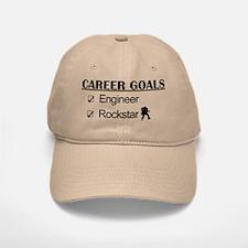 Engineer Career Goals - Rockstar Baseball Baseball Cap