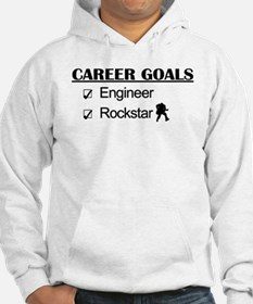 Engineer Career Goals - Rockstar Jumper Hoodie