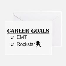 EMT Career Goals - Rockstar Greeting Cards (Pk of