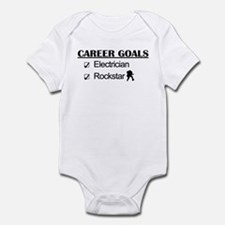 Electrician Career Goals - Rockstar Infant Bodysui