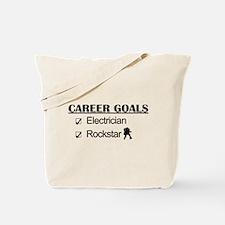 Electrician Career Goals - Rockstar Tote Bag