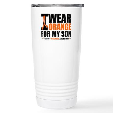 I Wear Orange For My Son Stainless Steel Travel Mu