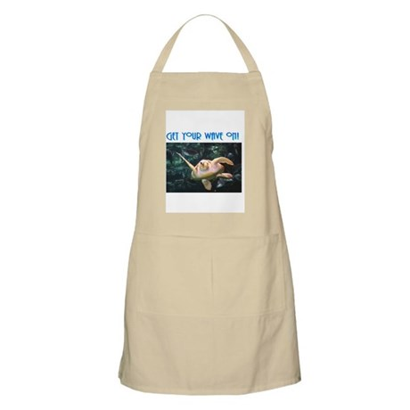 Sea Turtles BBQ Apron - Get your wave on!
