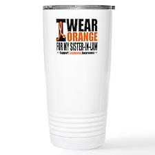 I Wear Orange For My SIL Travel Mug