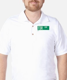 FDR Drive in NY Golf Shirt