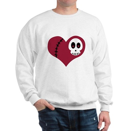Skull Heart Sweatshirt