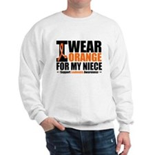 I Wear Orange For My Niece Sweatshirt