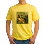 Spirit'76/Wheaten T Yellow T-Shirt