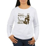 Booty Women's Long Sleeve T-Shirt