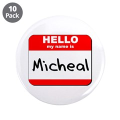 Hello my name is Micheal 3.5