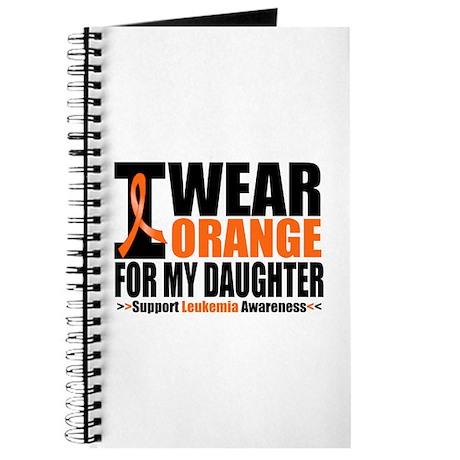 I Wear Orange For My Daughter Journal