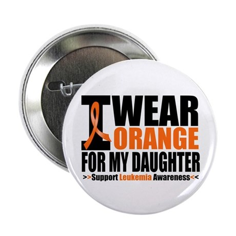 "I Wear Orange For My Daughter 2.25"" Button (10 pac"
