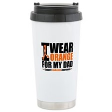 I Wear Orange For My Dad Travel Mug