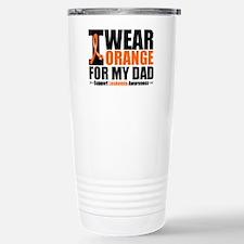I Wear Orange For My Dad Travel Mug