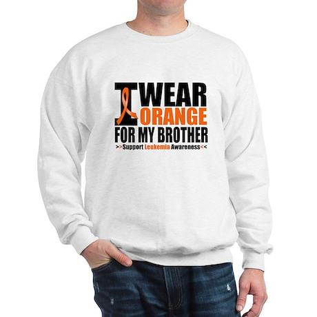 I Wear Orange For My Brother Sweatshirt