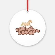 Walking Horse Ornament (Round)