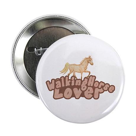 "Walking Horse 2.25"" Button"