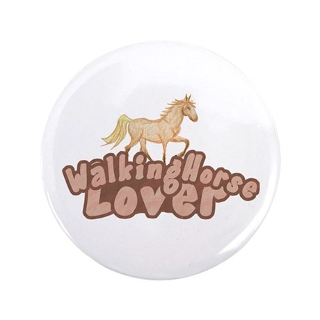 """Walking Horse 3.5"""" Button (100 pack)"""