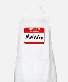 Hello my name is Melvin BBQ Apron