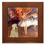 Dancer1/Wheaten T (7) Framed Tile