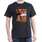 Dancer1/Wheaten T (7) Dark T-Shirt