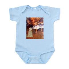 Dancer1/Wheaten T (7) Infant Bodysuit