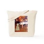 Dancer1/Wheaten T (7) Tote Bag