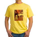 Dancer1/Wheaten T (7) Yellow T-Shirt