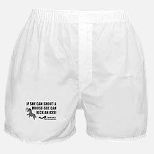 Palin-Ass Kicker Boxer Shorts